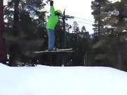 First Ski Jump