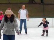 Majestic Ice Skater
