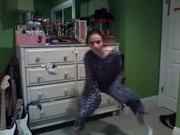 Very Creepy Dancing Girl