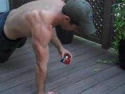 Push Ups Rubiks Cube