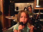 Heavy Metal Little Girl