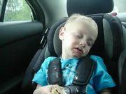 Ice Cream Makes Him Sleepy