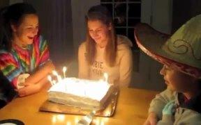 Birthday KO Cake