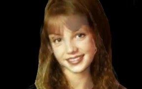 Britney Spears Face Morph