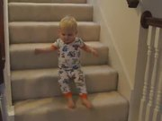 Cute Baby Vs Steps