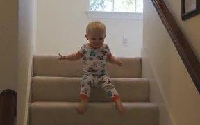 Cute Baby Vs Steps