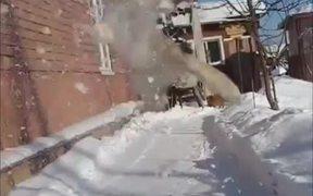 Cat Snow Ninja
