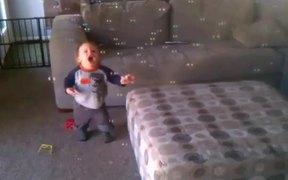 Little Boy Loves Bubbles