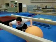 Balance Ball Balance Beam