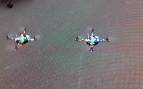 Cool Helicopter Swarm