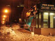 Urban Skiing Fail
