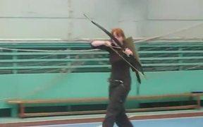 Super Fast Archery Girl