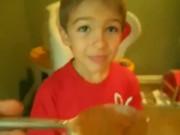 Little Boy Cinnamon Challenge