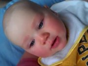 Baby Not Happy With Singing