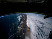 Earth From Space Time Lapse
