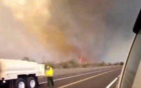 Fiery Tornado