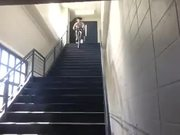 Bike Stairs And Fail