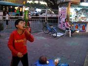 Chinese Street Performer