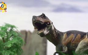 Super Panda Rescues Baby Dinosaur