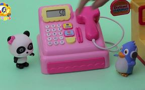 Baby Panda's Hamburger Shop | Kitchen Toys