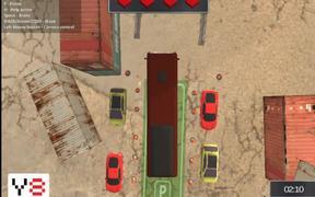 Extreme Bus Parking 3D Walkthrough