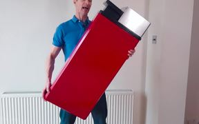 Testing Out This Giant Lighter