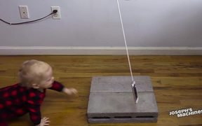The Goldberg Machine That Delivers Cakes