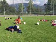 Practicing The Neymar