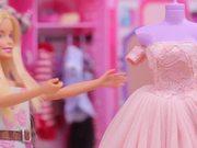 Baby Panda Makes Dresses | Barbie's Birthday Party