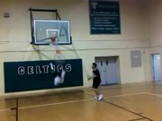 Dunk Breaks Backboard