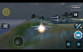 Sky Fighter Plane Gameplay Android