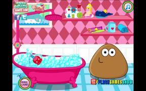 Pou Girl Bathing Day Walkthrough
