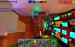 Space Desinfector Gameplay/Review Pixel Gun 3D