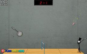 Stick Figure Badminton II Walkthrough