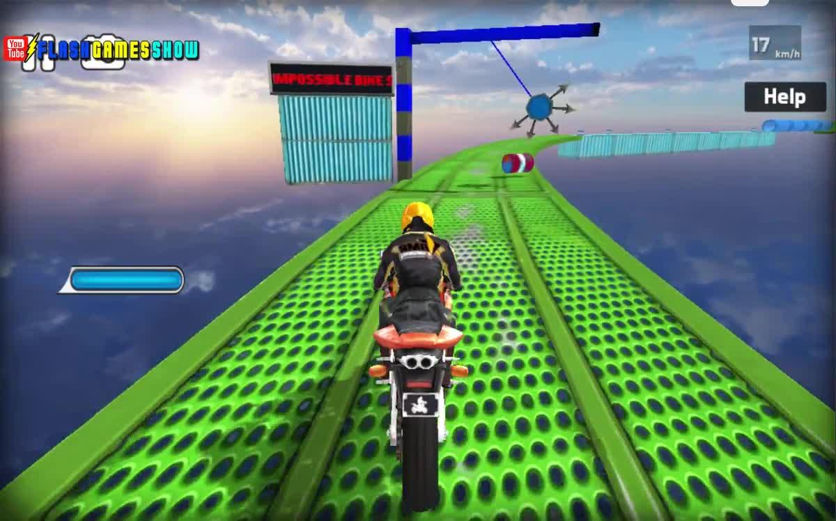 Video Impossible Bike Stunt 3D Walkthrough - Xem tại Y8.com