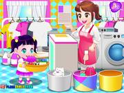 Children Laundry Walkthrough