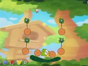 Cut the Rope 2 - level 13 Walkthrough