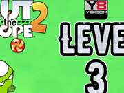 Cut the Rope 2 - level 3 Walkthrough