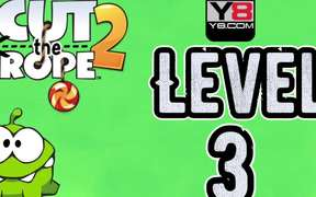 Cut the Rope 2 - level 3 Walkthrough