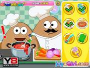 Pou Kitchen Slacking Walkthrough