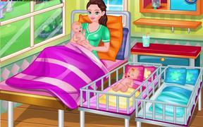 Mommy Twin Birth Walkthrough