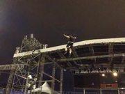 3D Aerial Fly: Zen Arts Stadium Show