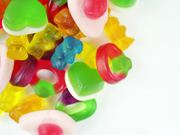 Selection of Candy Rotating into Shot