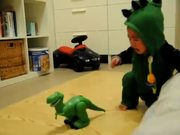 Baby Dino Fears Dinos