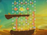 Cut the Rope 2 - level 164 Walkthrough