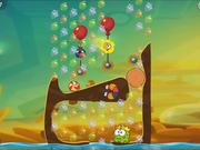 Cut the Rope 2 - level 163 Walkthrough