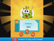 Cut the Rope 2 - level 154 Walkthrough