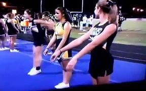 Slight Cheerleading Fail