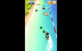 Talking Tom Jetski Walkthrough part 3