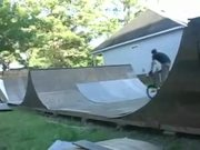 Really Cool BMX Trick